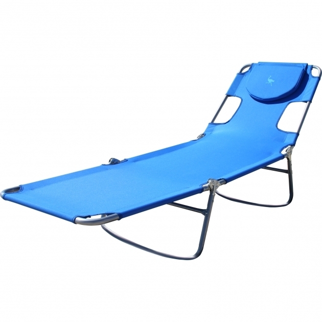 Blue Ostrich PVC Chaise Lounge U203a Images 37