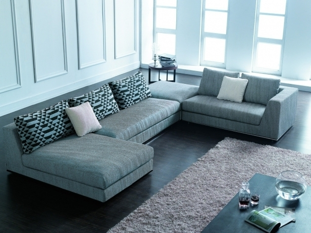 Blue Sectional Sofa With Chaise For Living Room Layout Fabric Sectional Sofas Image 27