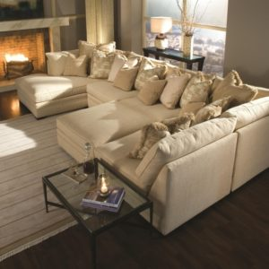 Fabric Sectional Sofas with Chaise