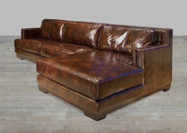 Dark Brown Leather Sectional With Chaise Lounge Images 04