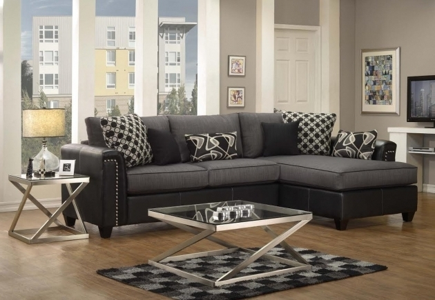 Fabric Sectional Sofas With Chaise Black Devine Styles Rossie Raf Picture 91