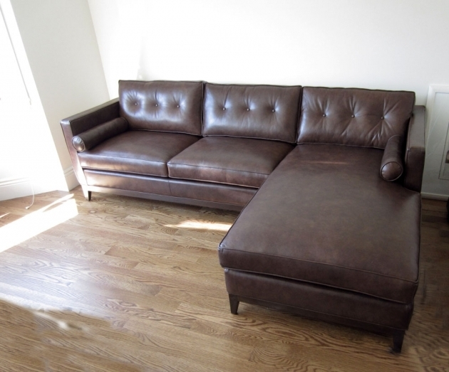 Leather Couch With Chaise Lounge  Picture 00
