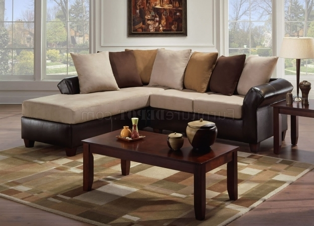 Microfiber Sectional Sofa With Chaise Contemporary Design Ideas Photo 36
