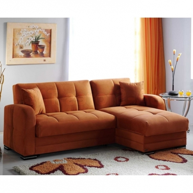 Orange Velvet L Shaped Lounge Sofa Designs Sleeper Picture 57