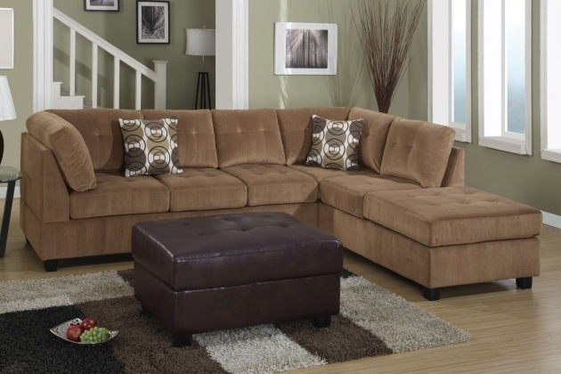 Poundex Pablo F7262 Brown Microfiber Sectional Sofa With Chaise Los Angeles Ca Picture 62