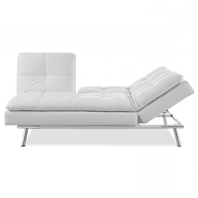 White Chaise Lounge Sleeper Sofa Ikea Home Design Ideas Picture 76