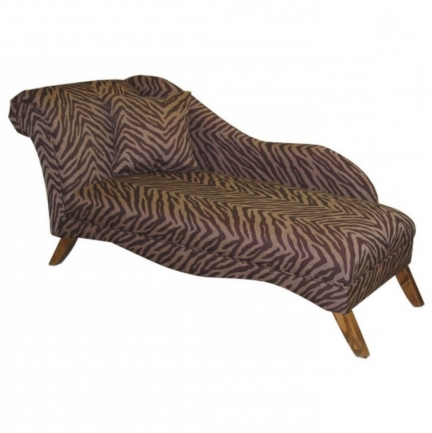 Animal Print Zebra Chaise Lounge Design Ideas Images 23