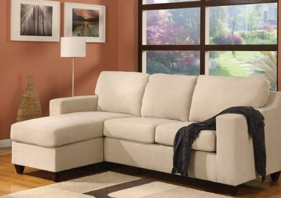 Cream Small Sectional Sofa With Chaise Design Photo 52