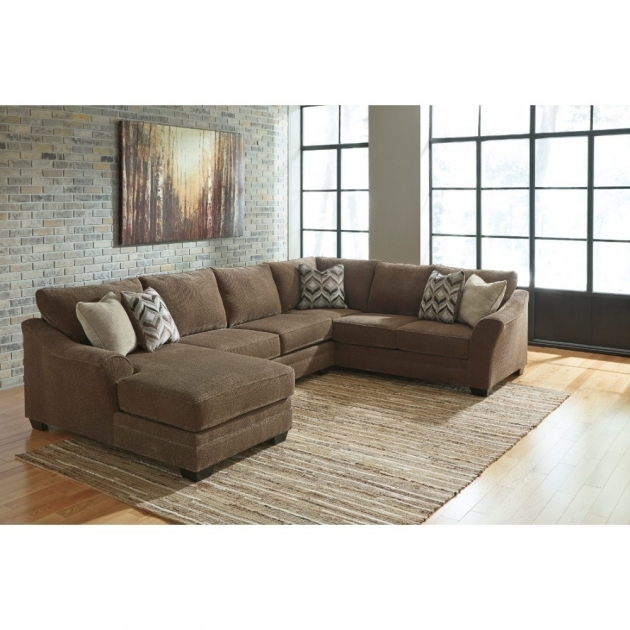 Justyna Sectional In Teak Local Ashley Furniture Chaise Sofa Image 26