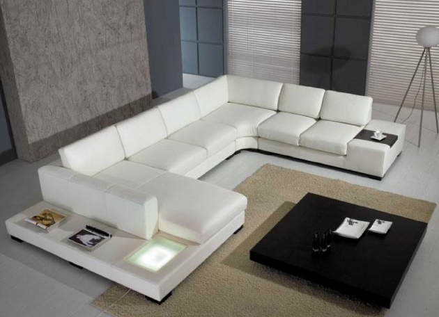 Large Leather White Sectional Sofa With Chaise Indoor Ideas Pictures 03