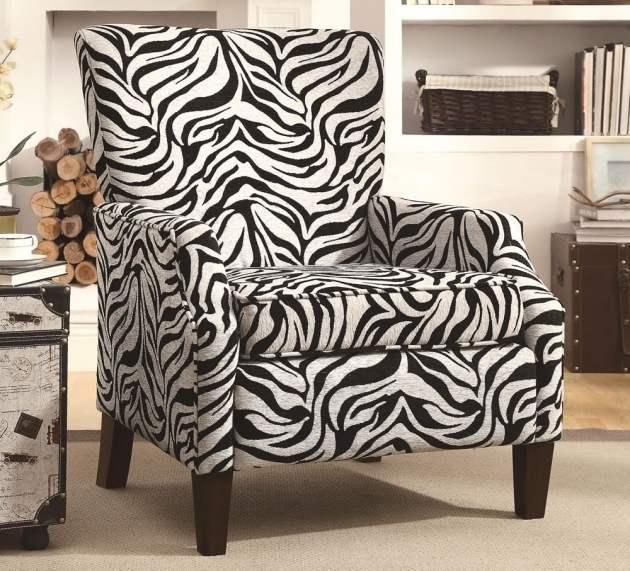 Leather Zebra Chaise Lounge Chair Design Picture 68