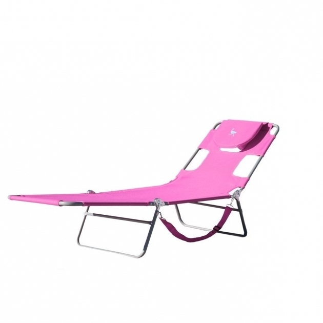 Ostrich Chaise Lounge Chs1002p Pink With Face Down Option Images 95
