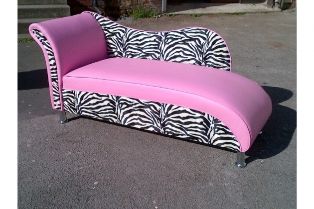 Pink And Zebra Chaise Lounge Furniture For Teen Girls Ideas Photo 24