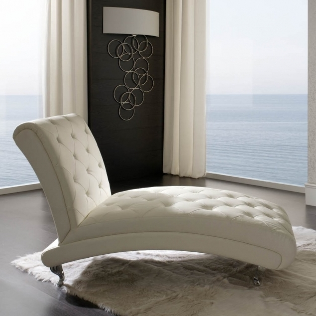White Leather Chaise Lounge Ideas Design Sydney Picture 94