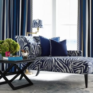 Zebra Chaise Lounge