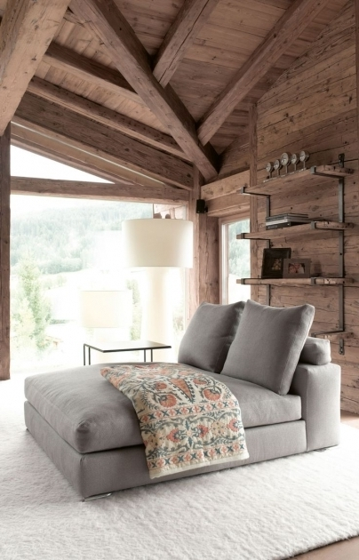 Best Indoor Double Chaise Lounge Ideas Bedroom Picture 61