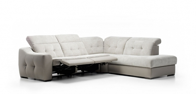 Cado Modern Furniture Aura Sectional Reclining Sofa With Chaise Pic 41