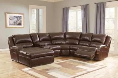 Reclining Sofa with Chaise