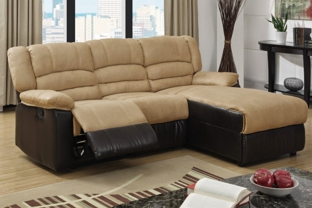 Microfiber Reclining Sofa With Chaise Pic 96