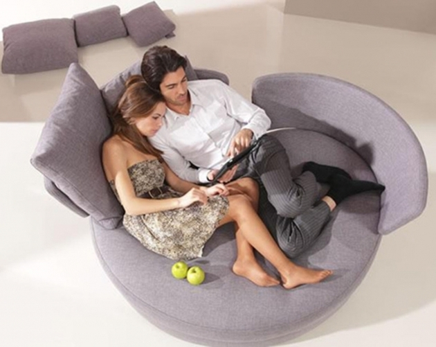 Contemporary Indoor Oversized Chaise Lounge Round Chair Ideas With Two Backs Images 53