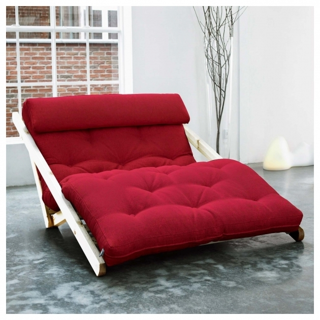 Red Futon Chaise Lounge Photos 56