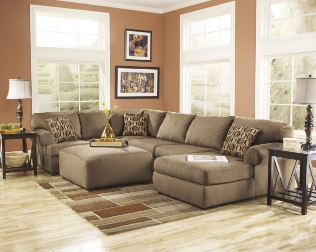 Fabric Sectionals Ashley Furniture Sofa Chaise Living Room Pictures 77
