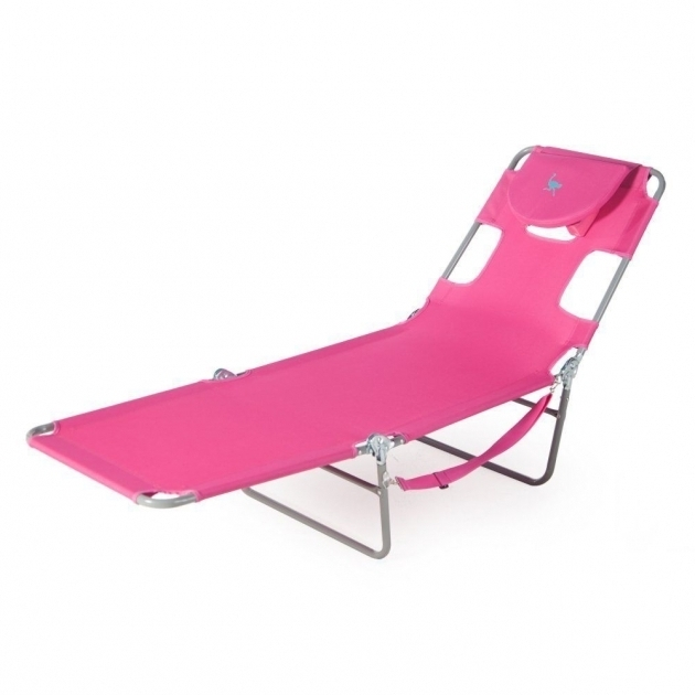 Ostrich Lounge Chaise Patio Beach Swimming Pool Sun Tan Lounge Chaise Portable Chair Pink Photos 82