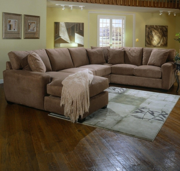 5 Piece Sectional Sofa With Chaise Casual Contemporary Reclining