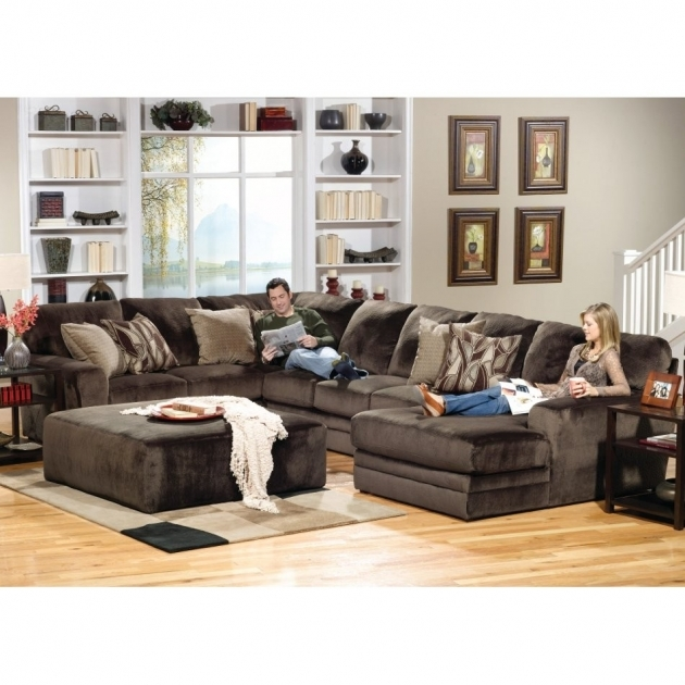 5 Piece Sectional Sofa With Chaise Conns Donovan Pics 29