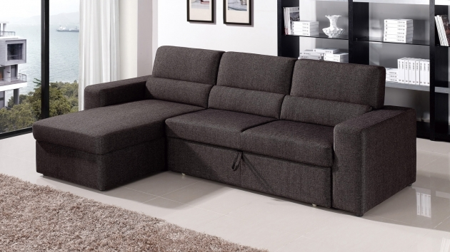 Astonishing Sleeper Sofa Sectional With Chaise Blackbrown Clubber  Image 26