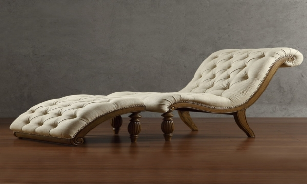 Contemporary Leather Chaise Lounge Chair Beige For Bedroom Photos 53