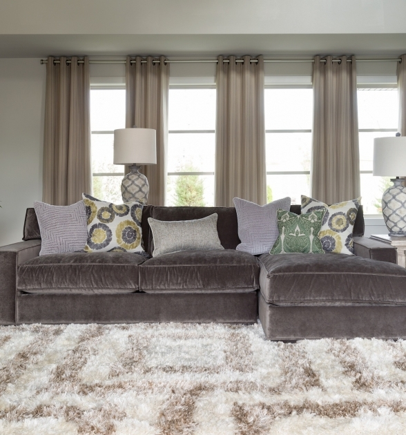 Delightful Sleeper Sofa Sectional With Chaise Gray Velvet Oversized Photos 94