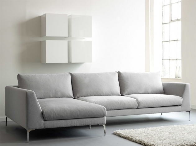 Modern Chaise Sofa Couch For Sale Grey Fabric Tufted Sofa With Rectangle Images 80