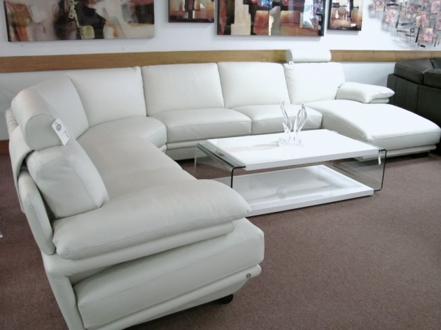 Natuzzi White Leather Sectional With Chaise Interior Concepts Furniture Image 82