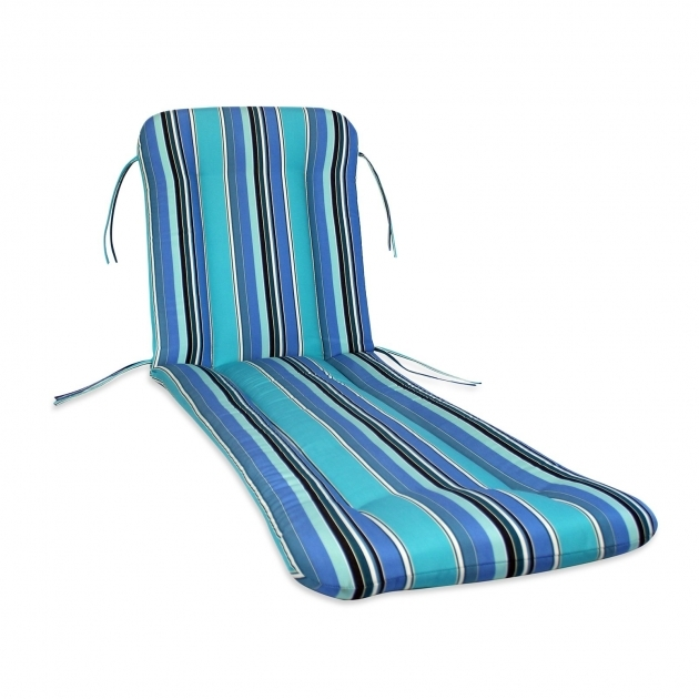 Outdoor Chaise Lounge Cushions Blue Comfort Classics Sunbrella Pic 05