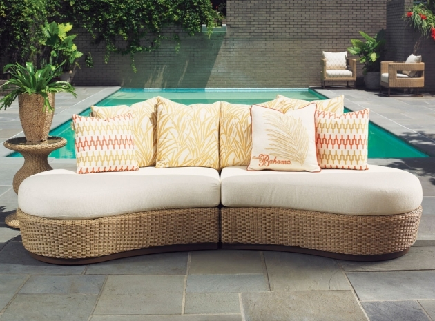 Outdoor Chaise Lounge Sofa Furniture Lexington Tommy Bahama Aviona Image 52