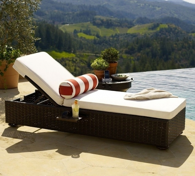 Patio Chaise Lounge For Family Patio Decorations Picture 14