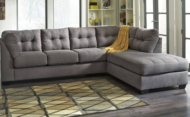 Sofa With Chaise Lounge Charcoal Gray Sectional Sofa Design Ideas  Pictures 85