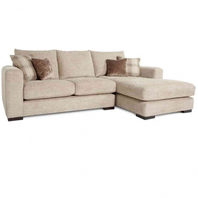 Sofa With Chaise Lounge Dark Brown Leather U Shaped Sofas With