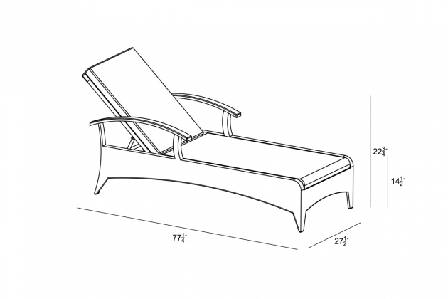 3 Pc Arbor Reclining Chaise Lounge Dimensions Set Picture 95
