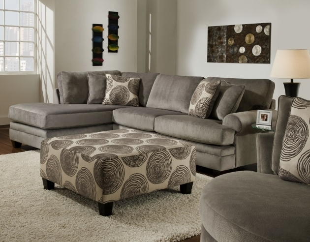 Asian Style Gray Sectional Sofa With Chaise Baker Furniture Images 77