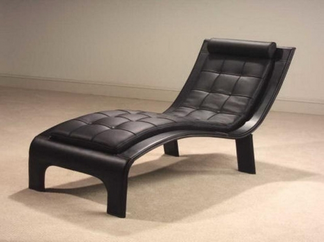 Black Leather Chaise Lounge Chair Ideas Pictures 07