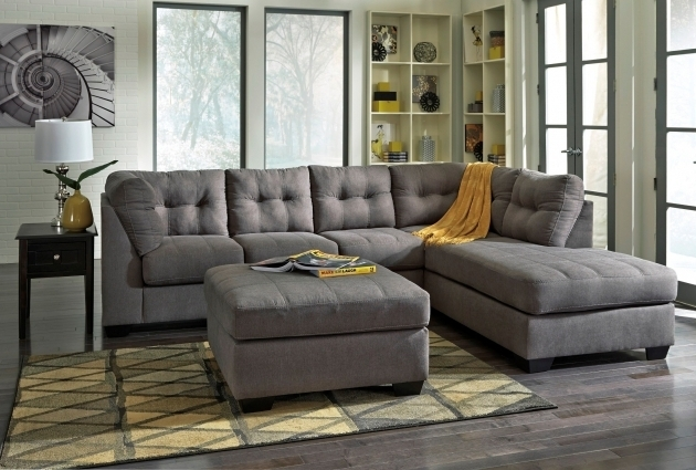 Charcoal Gray Sectional Sofa With Chaise Beige Leather For Sale Gray Leather Two Piece Images 04
