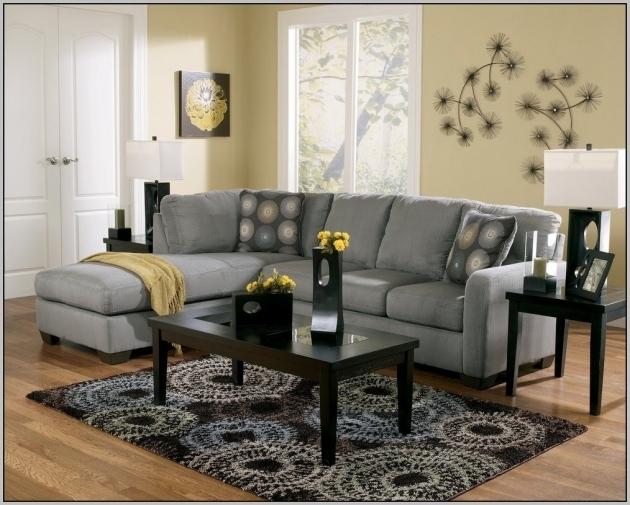 Charcoal Grey Sectional Sofa With Chaise Photo 21