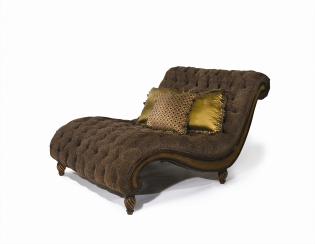 Classic Dark Brown Wooden Frame Oversized Chaise Lounge Sofa With Velvet Tufted Upholstered Seat Photo 97