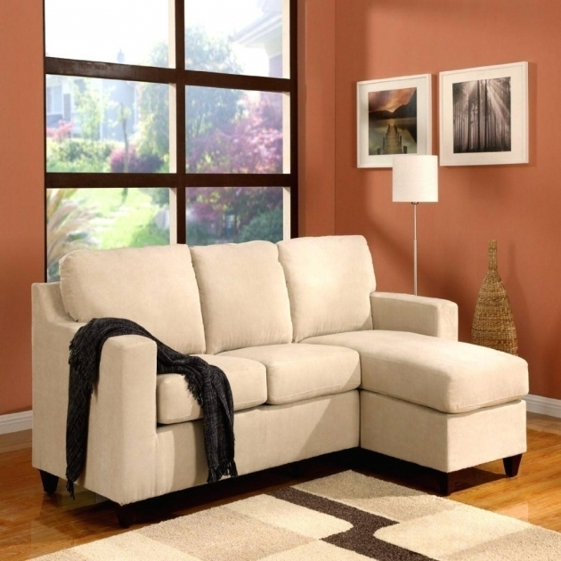 Cream Small Couch With Chaise Lounge Ideas  Image 87