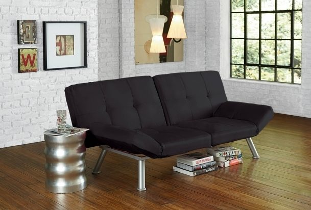 Emily Futon Chaise Lounger Design Multiple Colors Futon With Chaise Lounge Pictures 59