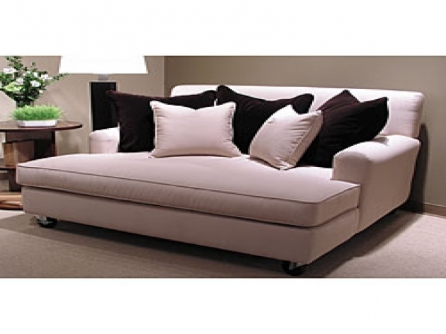 Double wide chaise sofa hereo sofa for Ashley furniture chaise lounge couch