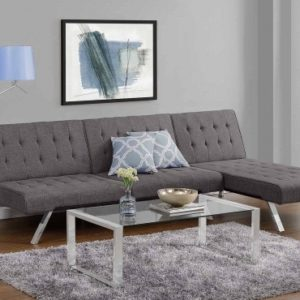 Futon with Chaise Lounge