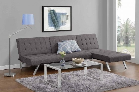 Futon With Chaise Lounge Emily Futon Multiple Colors Photos 08